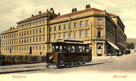 Трамвай в Сараево. SeminI, CC BY-SA 3.0
