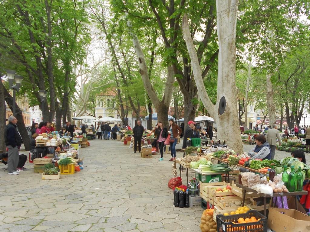 Требиньский рынок. Фото: Елена Арсениевич, CC BY-SA 3.0