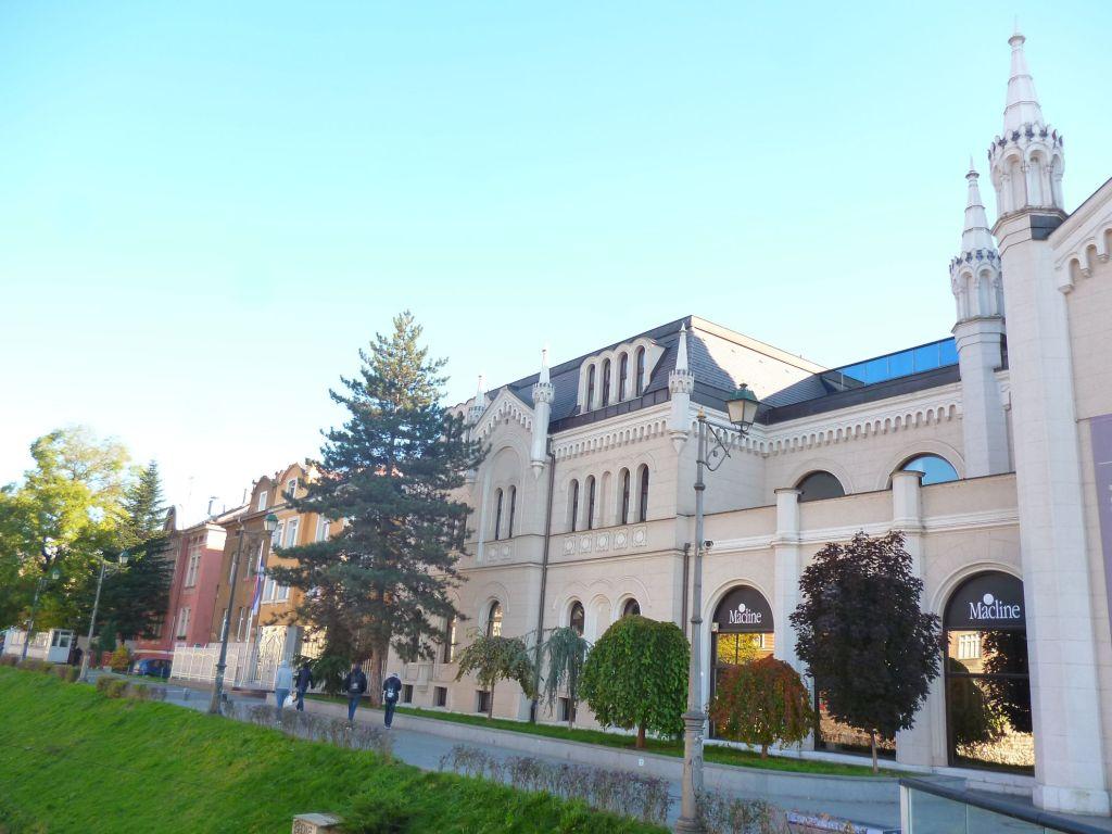 Академия искусств. Левое крыло. Фото: Елена Арсениевич, CC BY-SA 3.0