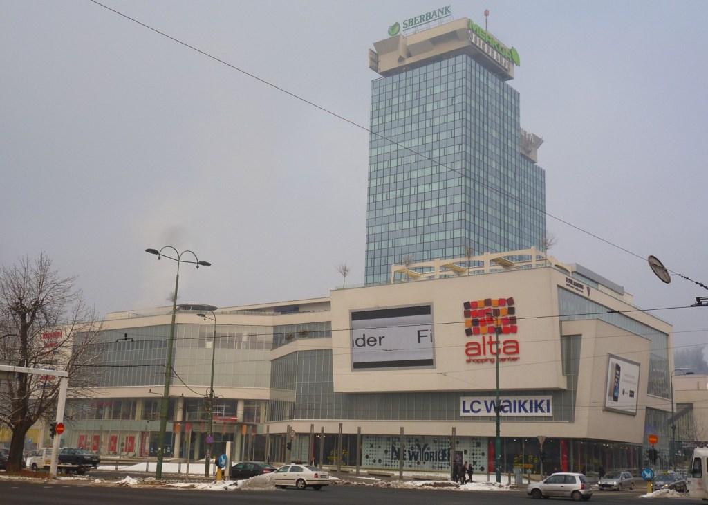 Торговый центр Alta. Фото: Елена Арсениевич, CC BY-SA 3.0
