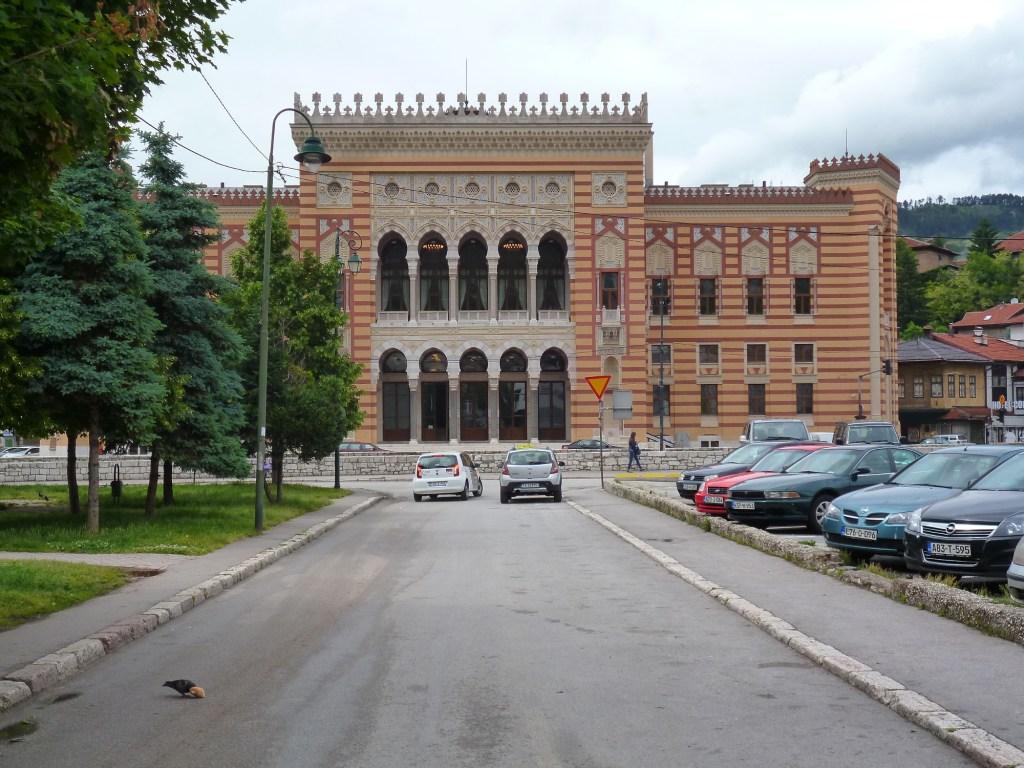 Виечница, то есть ратуша. Фото: Елена Арсениевич, CC BY-SA 3.0