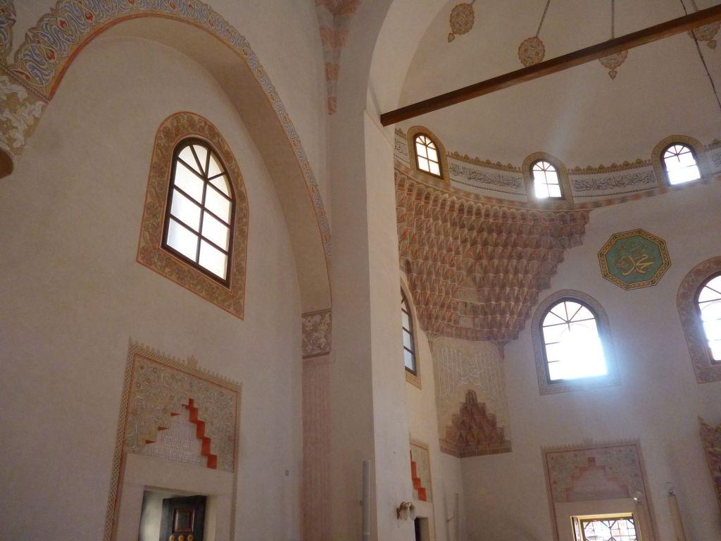 Оформление интерьера Беговой мечети. Фото: Елена Арсениевич, CC BY-SA 3.0