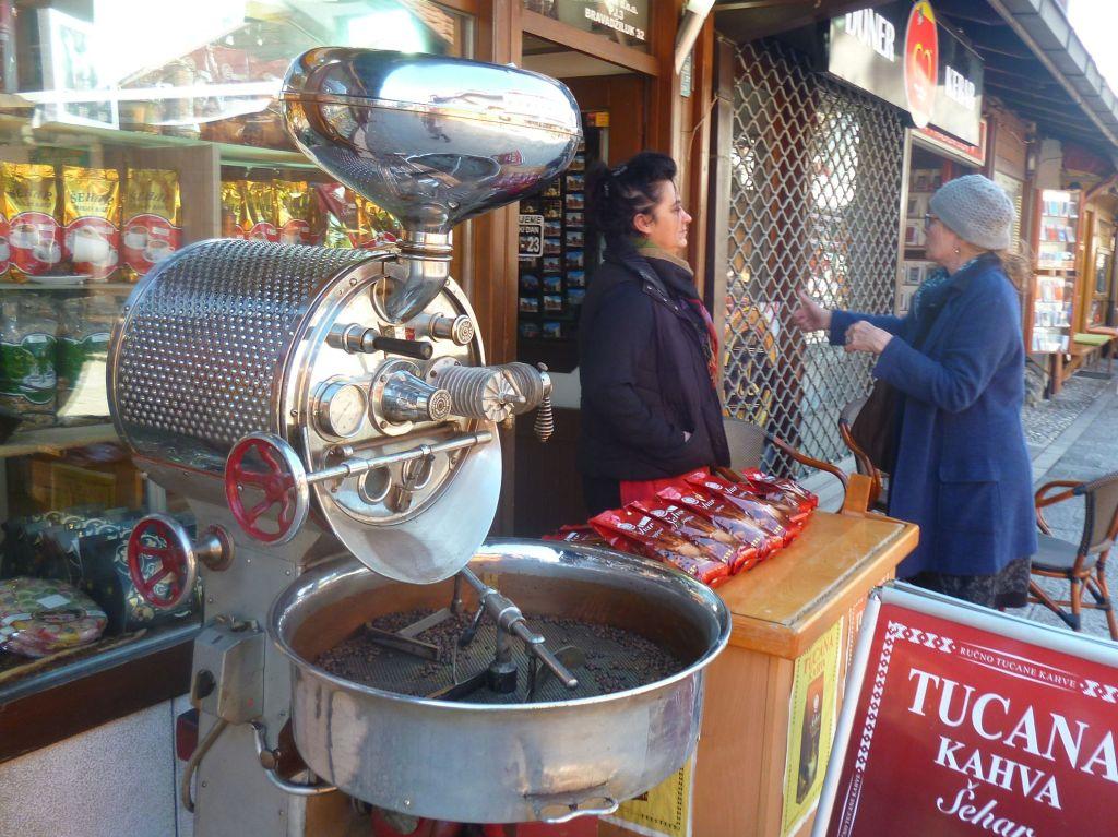 Здесь обжаривают и продают кофе. Фото: Елена Арсениевич, CC BY-SA 3.0