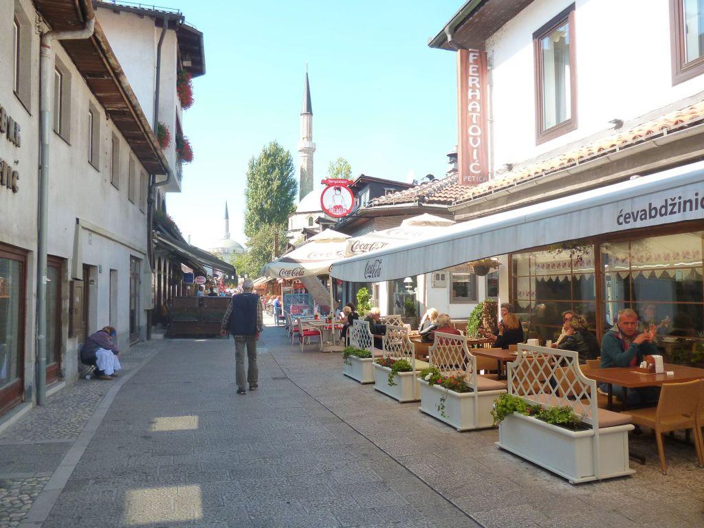 Улица Браваджилук в Сараево. Фото: Елена Арсениевич, CC BY-SA 3.0