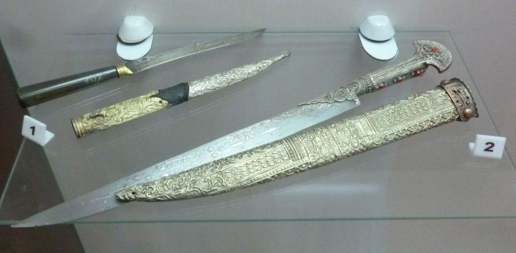 Оружие из коллекции музея. Фото: Елена Арсениевич, CC BY-SA 3.0