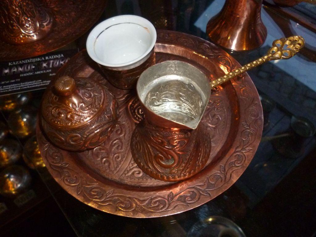 Набор для кофе по-боснийски. Фото: Елена Арсениевич, CC BY-SA 3.0