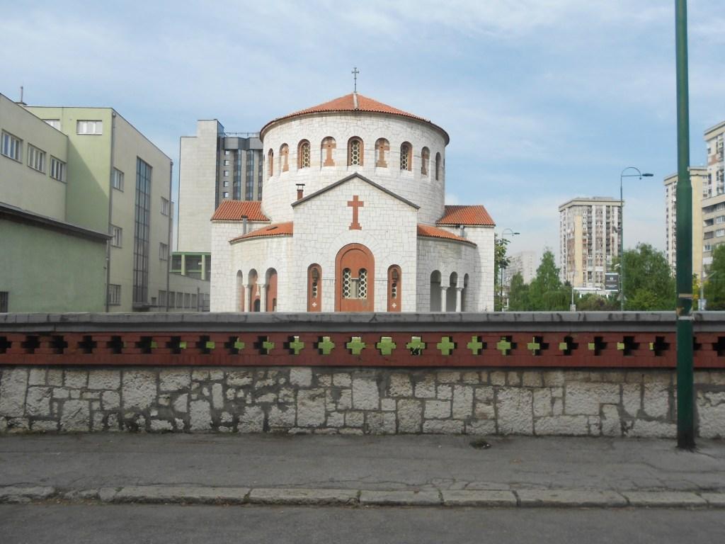 Церковь св. Преображения в Сараеве. Фото: Елена Арсениевич, CC BY-SA 3.0