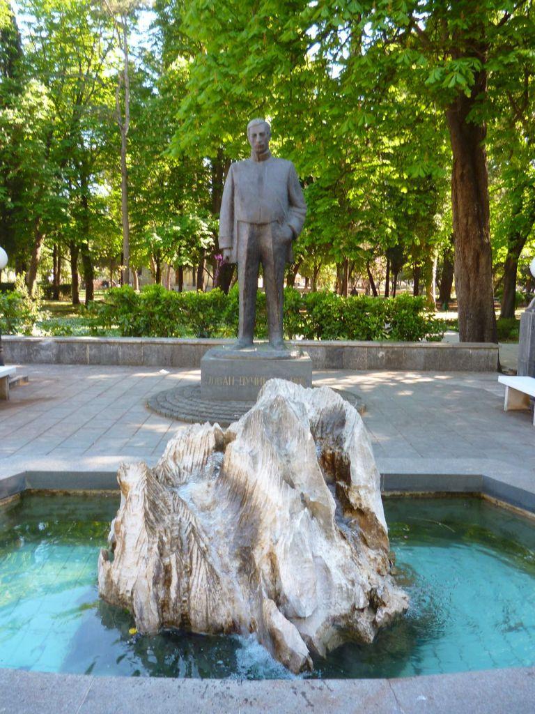Памятник Йовану Дучичу. Фото: Елена Арсениевич, CC BY-SA 3.0