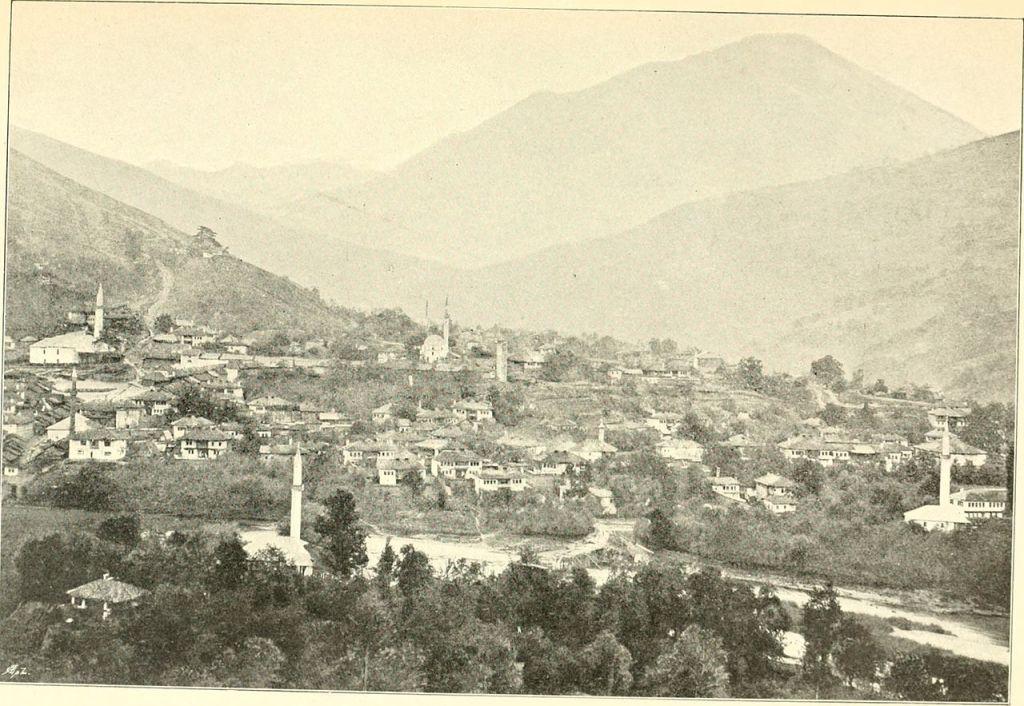 Фоча в 1897 году. Renner, Heinrich, No copyright