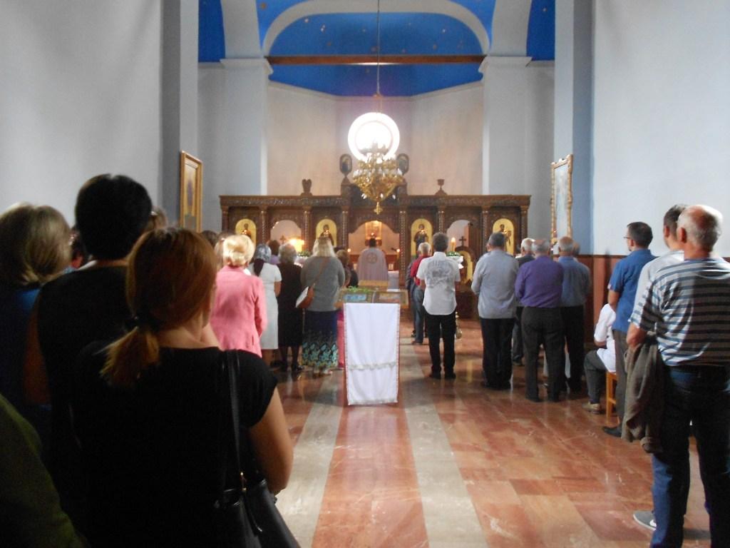 Служба в православной церкви в Вишеграде. Фото: Елена Арсениевич, CC BY-SA 3.0