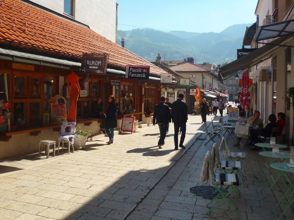 Северная часть улицы. Фото: Елена Арсениевич, CC BY-SA 3.0