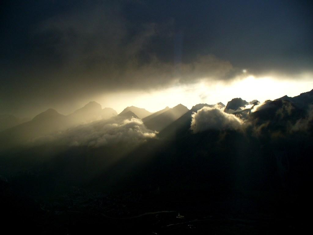 Горы как место битвы. H. Zell, GNU 1.2