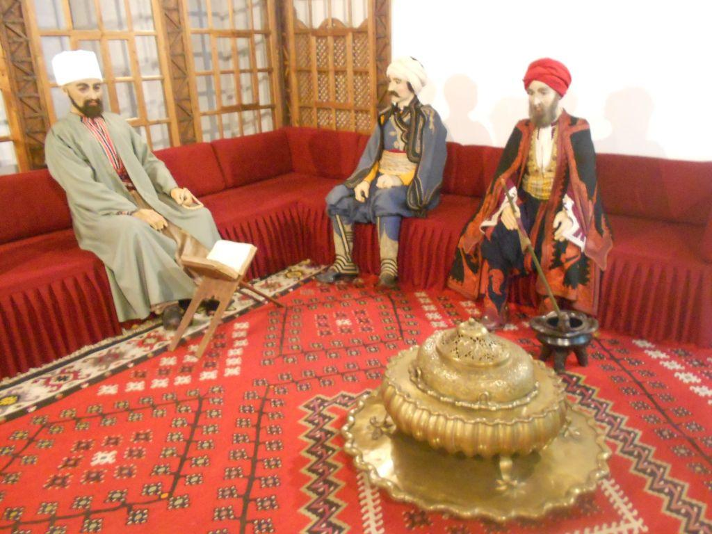 Османская гостиная в Земальском музее в Сараево. Фото: Елена Арсениевич, CC BY-SA 3.0