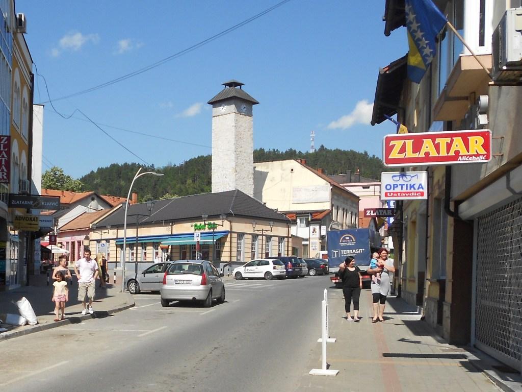 Часовая башня в Грачанице. Фото: Елена Арсениевич, CC BY-SA 3.0