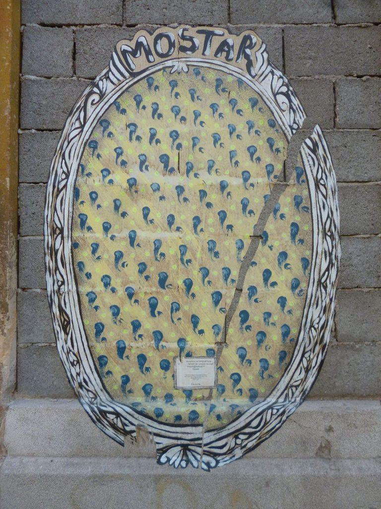 Медальон для селфи. Фотографию просят послать по указанному емейлу.. Фото: Елена Арсениевич, CC BY-SA 3.0