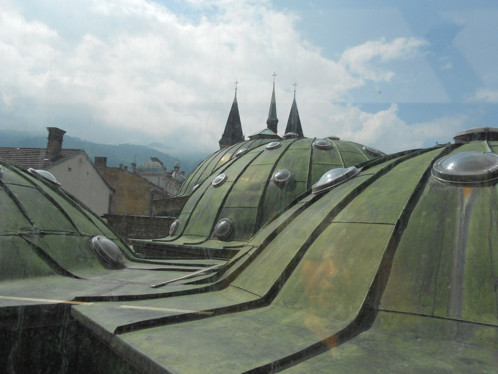 Купола хаммама. Фото: Елена Арсениевич, CC BY-SA 3.0