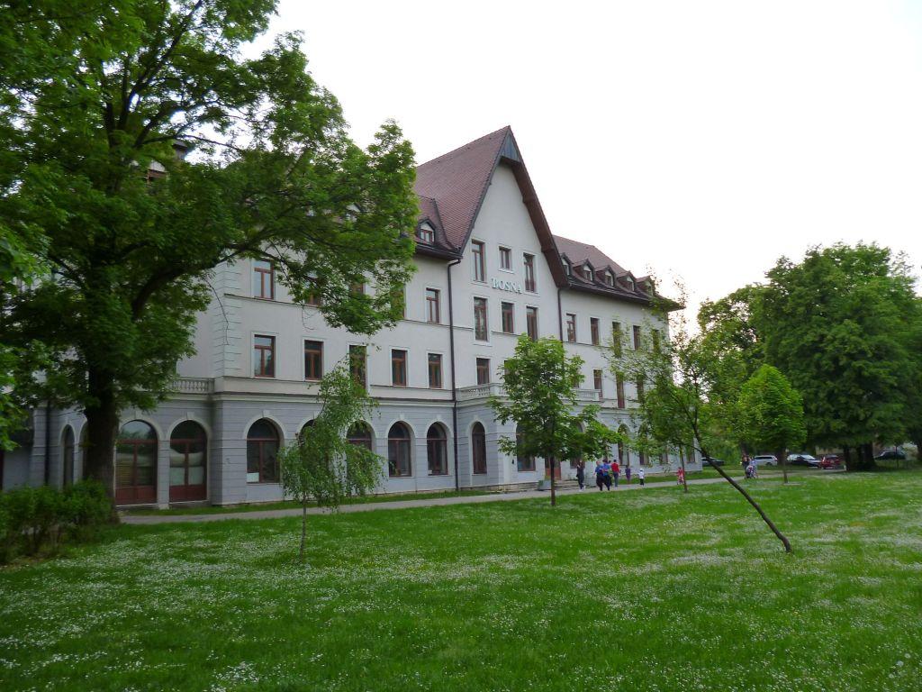 """Отель """"Bosna"""". Фото: Елена Арсениевич, CC BY-SA 3.0"""