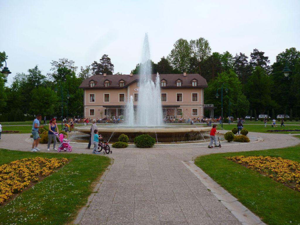 Фонтан в парке. Фото: Елена Арсениевич, CC BY-SA 3.0