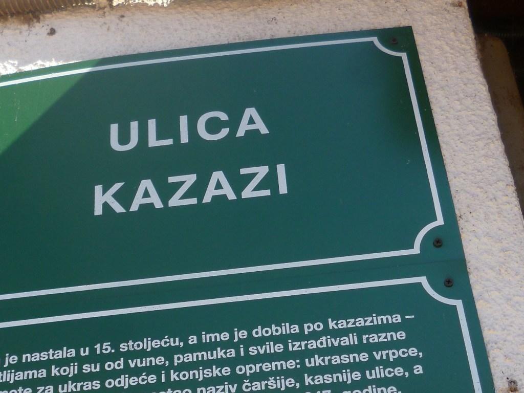 Улица Казази. Фото: Елена Арсениевич, CC BY-SA 3.0
