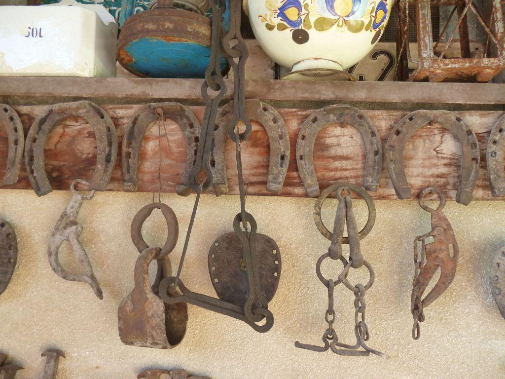 Подковы в коллекции музея «Старый град» в Ливно. Фото: Елена Арсениевич, CC BY-SA 3.0