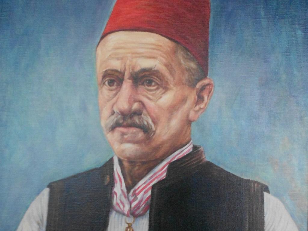 Портрет Муяги Комадины в Бошнячском институте в Сараеве. Автор неизвестен, public domain