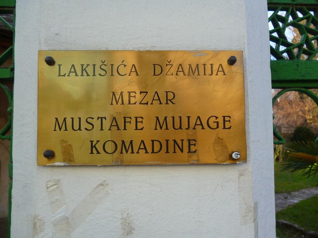 Место, где похоронен Муяга Комадина. Фото: Елена Арсениевич, CC BY-SA 3.0