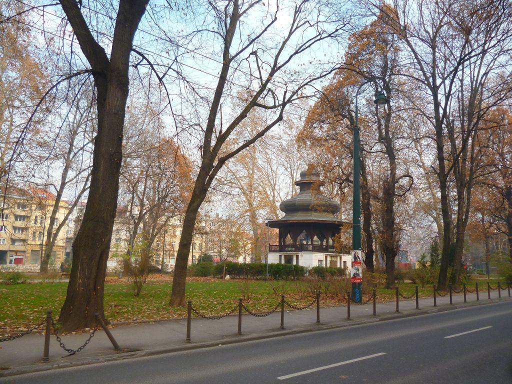 Музыкальный павильон в парке Ат-Мейдан. Фото: Елена Арсениевич, CC BY-SA 3.0