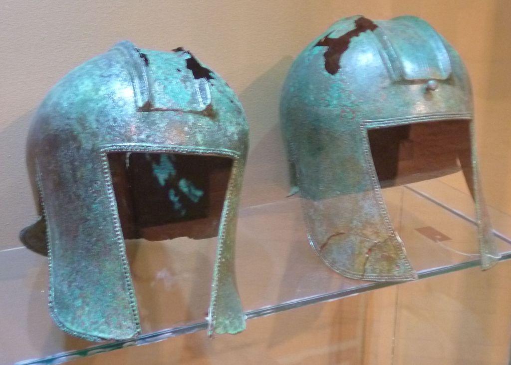 Иллирийские шлемы. Фото: Елена Арсениевич, CC BY-SA 3.0