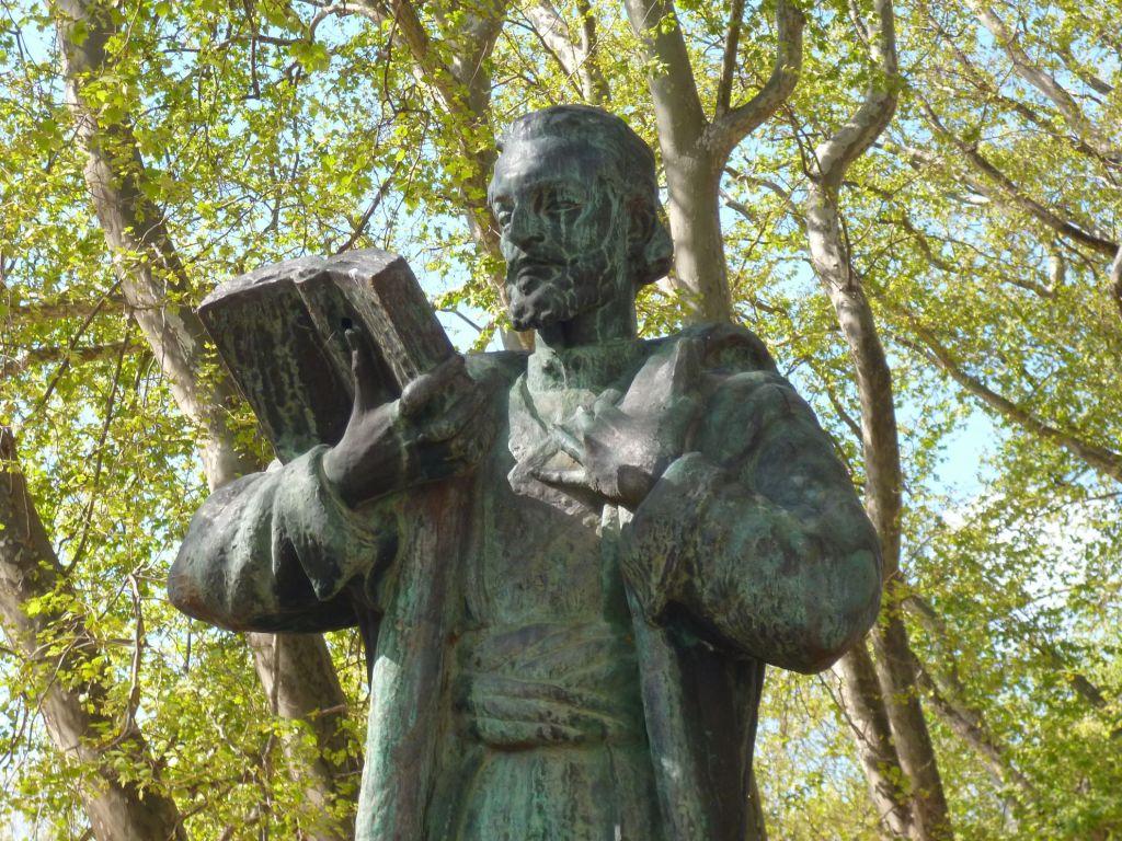 Памятник Негошу в Требине. Фото: Елена Арсениевич, CC BY-SA 3.0