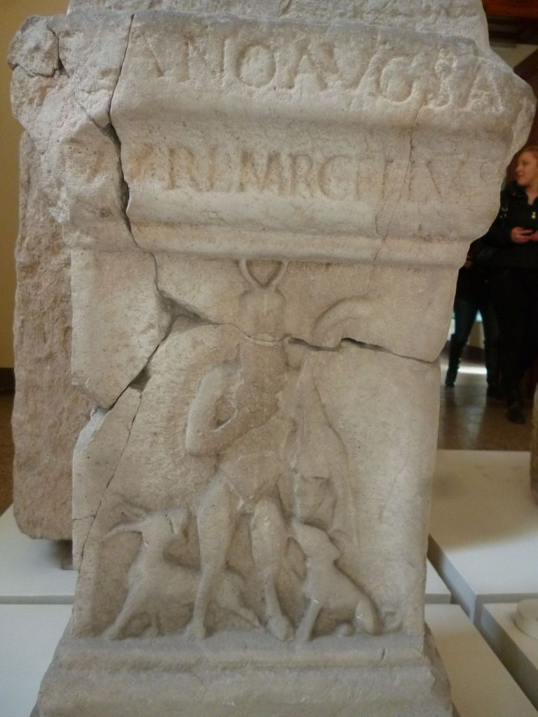 Рельеф древнеримского периода. Фото: Елена Арсениевич, CC BY-SA 3.0