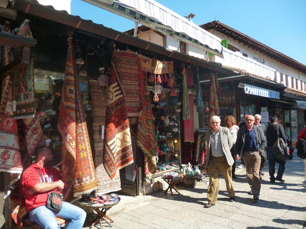 Башчаршия в Сараево. Фото: Елена Арсениевич, CC BY-SA 3.0