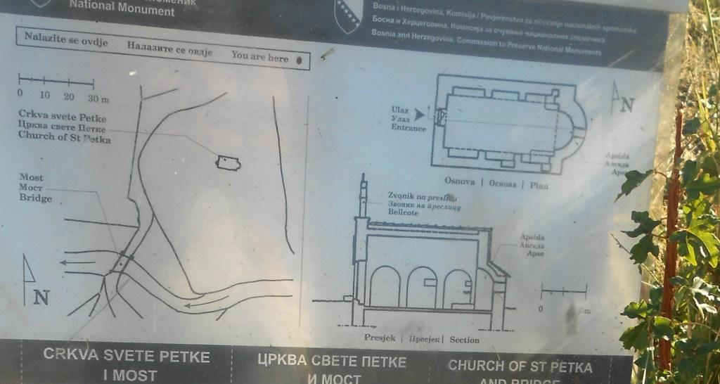 План и разрез церкви. Фото: Елена Арсениевич, CC BY-SA 3.0