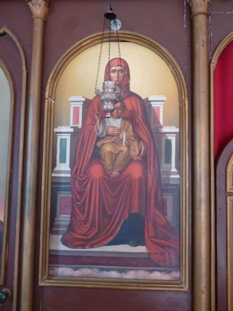 Икона в церкви св. Петра. Фото: Елена Арсениевич, CC BY-SA 3.0