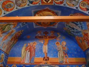 Росписи церкви св. Павла. Фото: Елена Арсениевич, CC BY-SA 3.0