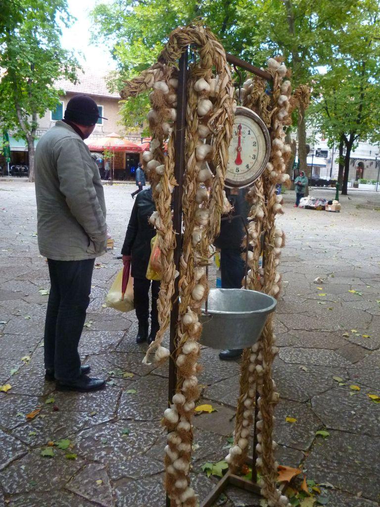 Чеснок на Балканах называют «белый лук». Фото: Елена Арсениевич, CC BY-SA 3.0