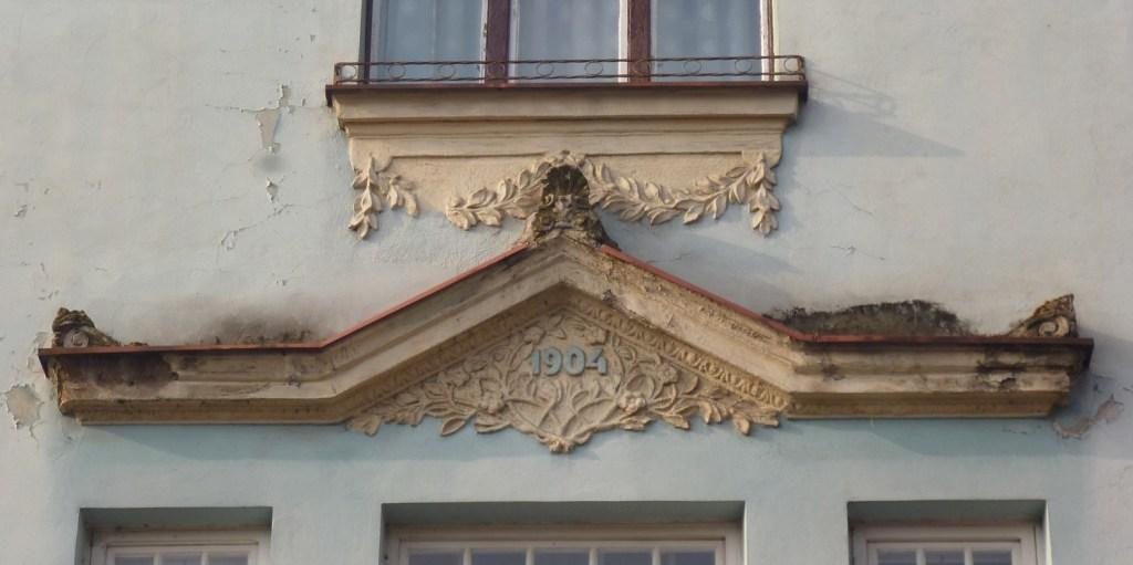 Фрагмент декора, вилла Гермины Радиш. Фото: Елена Арсениевич, CC BY-SA 3.0