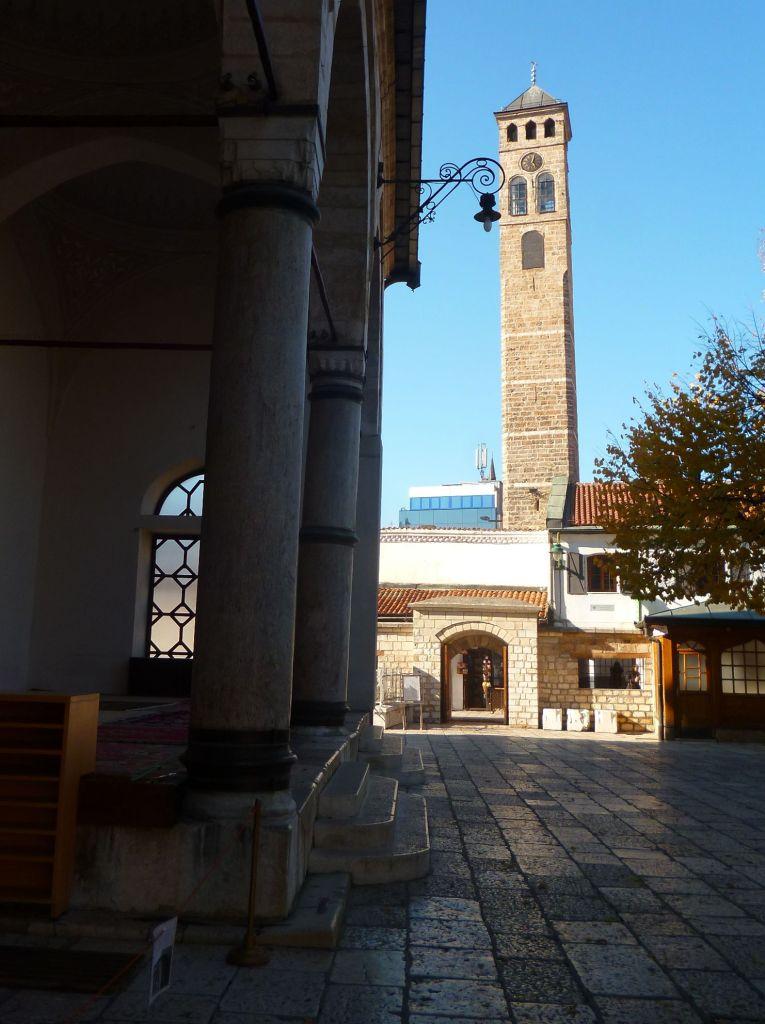 Часовая башня в Сараево. Фото: Елена Арсениевич, CC BY-SA 3.0