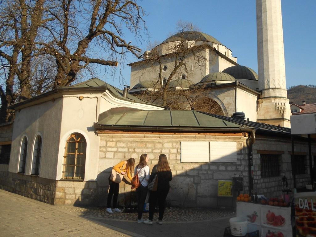Мечеть Гази Хусрев-бега. Фото: Елена Арсениевич, CC BY-SA 3.0
