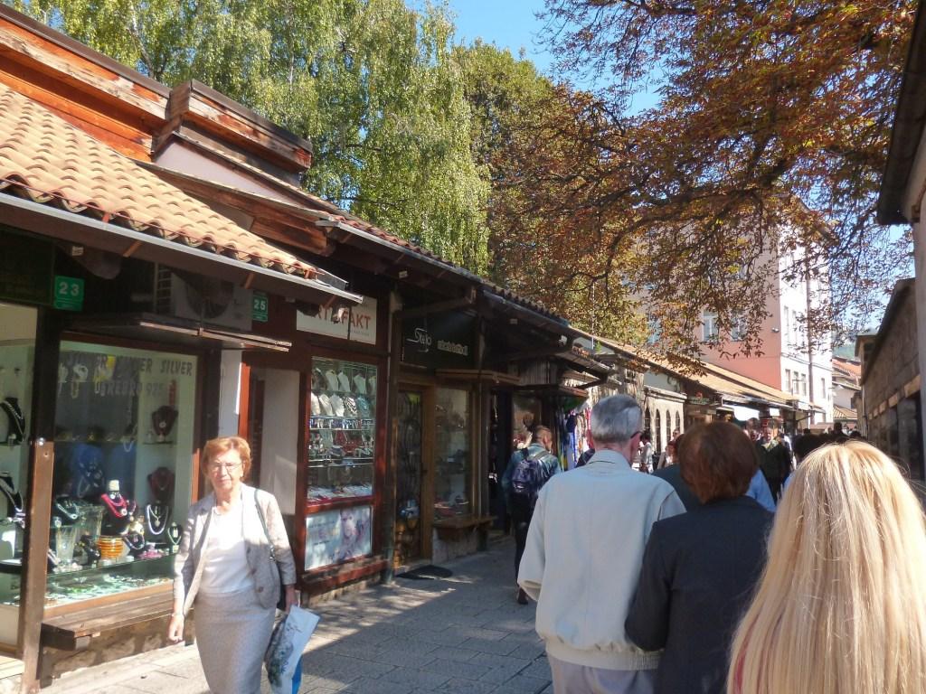 Улица Сарачи в Сараево. Фото: Елена Арсениевич, CC BY-SA 3.0