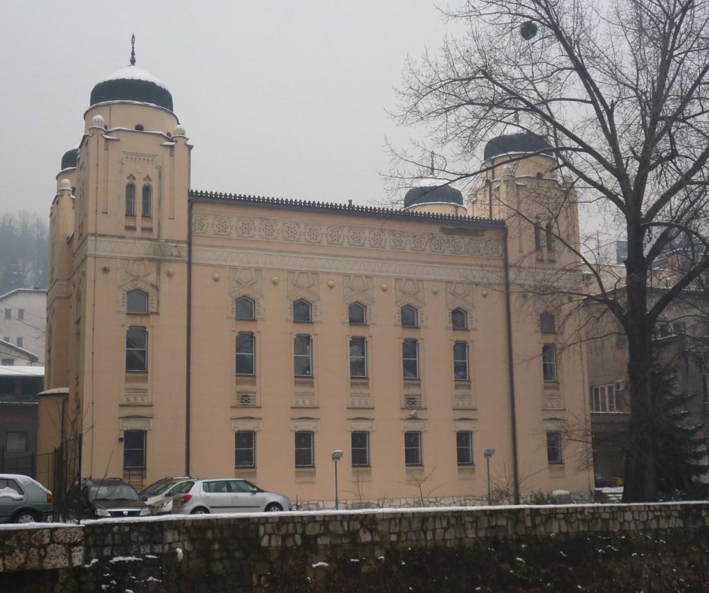 Ашкеназская синагога в Сараево. Фото: Елена Арсениевич, CC BY-SA 3.0