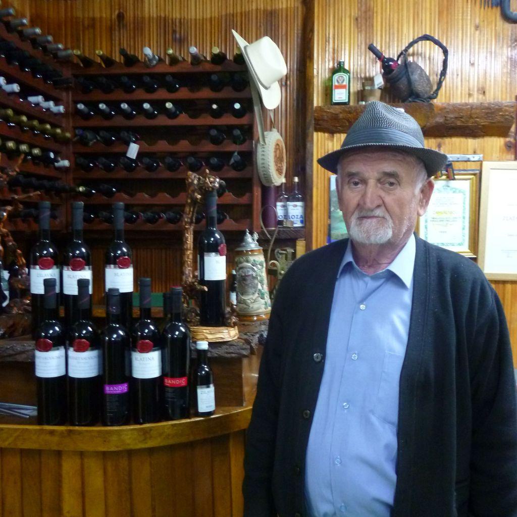 Жарко Стоич, патриарх герцеговинского виноделия. Фото: Елена Арсениевич, CC BY-SA 3.0