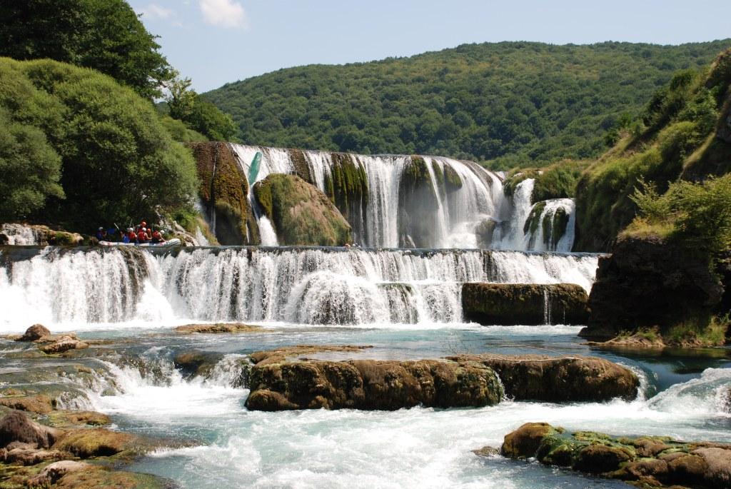 Водопад Штрбачки бук. Nacionalni park Una, CC BY-SA 4.0