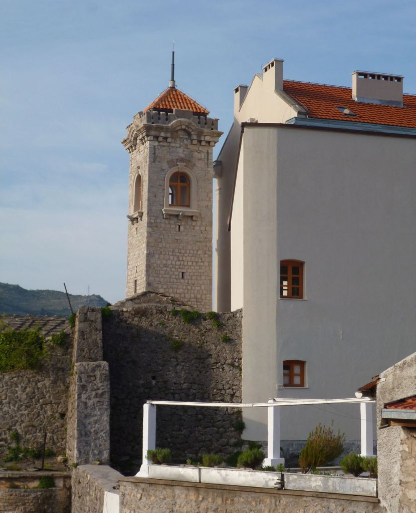 Часовая башня. Фото: Елена Арсениевич, CC BY-SA 3.0