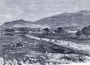 Требине на гравюре 19-го века. Автор неизвестен, public domain