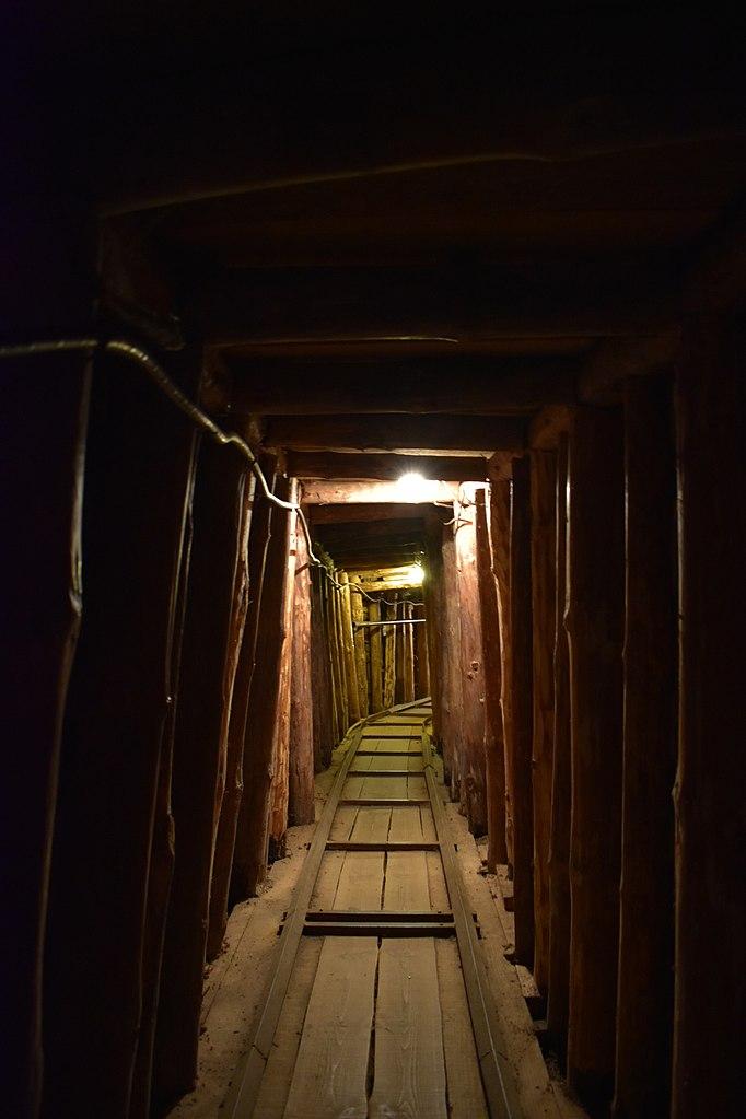 Туннель спасения. Фото: Justin W Flory, CC-BY-SA-3.0