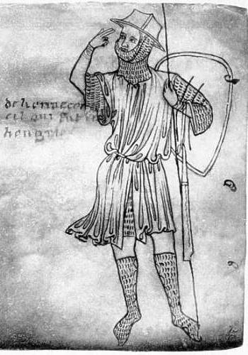 Стража. Villard de Honnecourt (?), Public Domain