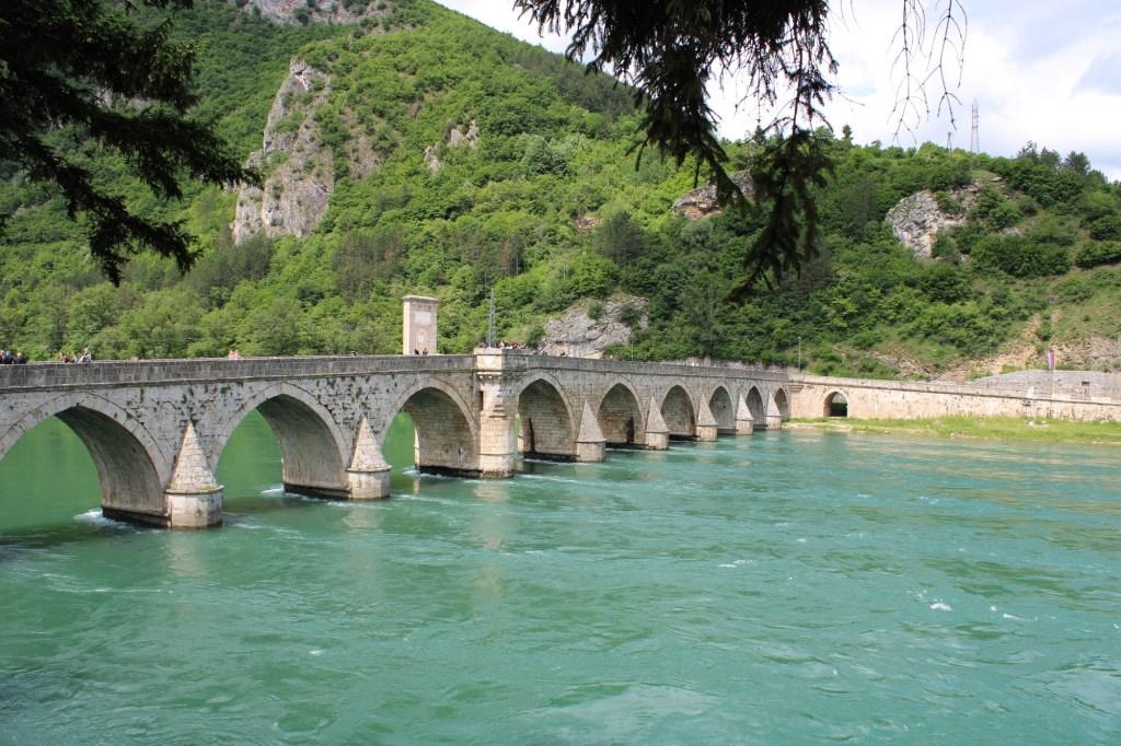 Мост Мехмеда-паши Соколовича в Вишеграде. Фото: Елена Арсениевич, CC BY-SA 3.0