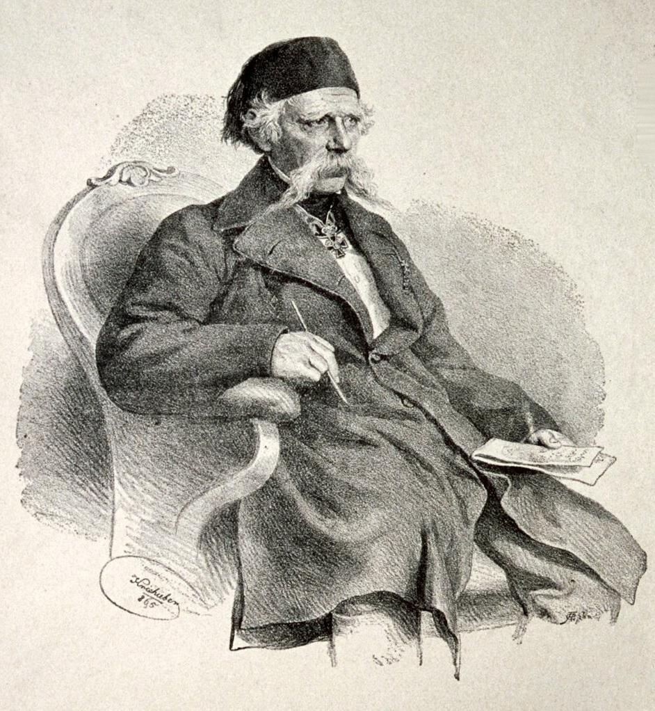 Вук Караджич. Joseph Kriehuber, Public Domain