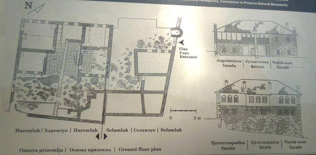 Схема традиционного дома. Фото: Елена Арсениевич, CC BY-SA 3.0
