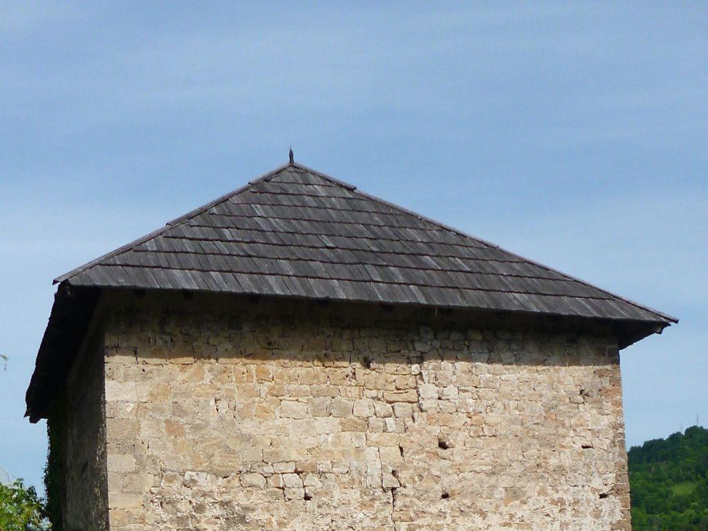 Деревянная крыша. Фото: Елена Арсениевич, CC BY-SA 3.0